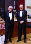 AHF 100th Anniversary Gala: Attila Micheller and Akos Nagy