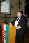 The Honorable Mr. Peter Ujvagi, a Ohio State Legislator who spearheaded the AHF resolution in Ohio, presented excerpts from that resolution honoring the sacrifices and congratulating the American Hungarian Federation on it's 100th anniversary