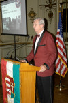 The keynote speaker was Senator Joseph Tydings who reminded guests that the friendship between the United States and Hungary goes back to the very beginnings of US history.