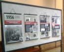 The 1956 Hungarian Revolution through photos exhibit in the Texas Capitol in Austin