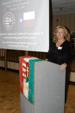 Eva Stubits, President of the Hungarian American Cultural Association (HACA) of Houston