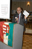 Arpad Gergely at the symposium was held commemorating the 50th anniversary of the 1956 Hungarian Revolution. Hosted by the University of St. Thomas and sponsored by Houston Hungarian Consulate and AHF