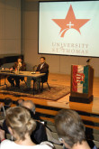 On Friday, October 27th a symposium was held commemorating the 50th anniversary of the 1956 Hungarian Revolution. Hosted by the University of St. Thomas and sponsored by Houston Hungarian Consulate and AHF