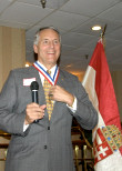 Dr. Robert Ivany, 2006 recipient of AHF's highest award, the Colonel Commandant Michael Kovats Medal of Freedom
