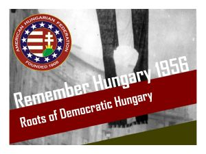 Why Hungary? In thinking about the state-sponsored brutality in the 1950's Eastern Bloc and the revolt against it, this question has always intrigued me.