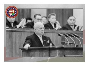 "Khrushchev's ""secret speech"" in February 1956, denouncing the crimes of Stalin and his cult of personality, led reformers across the Eastern bloc began to openly express their discontent."