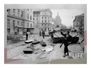 Hungarian Army units join the insurgents as the communist party disintegrates. There was now no turning back.