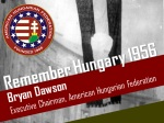 "AHF Executive Chairman delivers multimedia presentation entitled ""Reflections on the 1956 Hungarian Revolution"" for the Shepherd Center World Affairs Series"