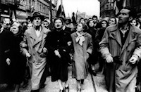 We must never forget the heroes of 1956 – the students, the intellectuals, the workers, the farmers, indeed the cross-section of the entire Hungarian nation -- who were prepared to realize their dreams at great personal sacrifice. 1956 Protestors march on Ulloi Ut in Budapest