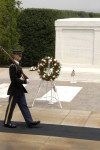 AHF lays wreath at the Tomb of the Unknown Soldier. The American Hungarin Federation's 2007 Memorial Day Commemoration Ceremony at Arlington National Cemetery included a wreath laying the Tomb of the Unknown Soldier.