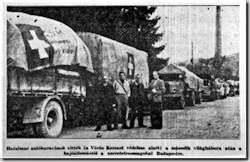 In 1945, Hungarian-Americans organized large-scale relief programs to help alleviate the sufferings of their countrymen in war-ravaged Hungary. The American Hungarian Relief Program, under the auspices of the American Hungarian Federation, collected and sent $1,216,167.00 in clothing, medicine, foodstuffs and money. In all, 200,000 care packages were sent by countless local and national groups. The greatest benefactors of the movement were: Mrs. László Széchényi (née Gladys Vanderbilt), Lajos Szánthó, president of the Virginia Kentucky Tobacco Company and Daniel Szantay, president of the Santay Corporation. Total estimated costs of the relief program exceeded three million dollars.