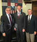 Representatives of the American Hungarian Federation (AHF) met with U.S. Congressman Andy Harris