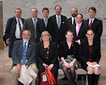 Photo Caption: Participants in Central and East European Coalition (CEEC) Advocacy Day April 13, 2011 in the U.S. Congress, Hart Senate Office Building.