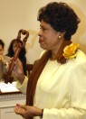 Congresswoman Watson and her key to Szelmenc