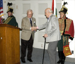 AHF 1956 Commemoration, Congressional Reception and Awards Ceremony - James McCargar accepts his award