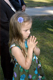 The Darr Mine Commemoration at Olive Branch Church in Rostraver, PA: Xitllali Dawson prays for the victims