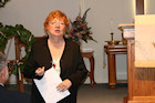 Darr Mine Commemoration at Olive Branch Church in Rostraver, PA: Mary Lou Magiske