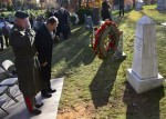AHF, member organizations, and representatives of the Hungarian embassy in Washington DC placed flowers at the grave of Holocaust Hero, colonel Ferenc Koszorús, in Columbia Gardens Cemetery in Arlington, Virginia