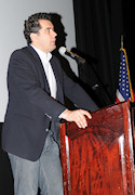 Speakers included Event Chair, James Buzgo; AHF Executive Chairman, Bryan Dawson; and New York Consul General, Ambassador Karoly Dan (seen here)