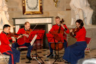 US Marine Quarter perform at the US Capitol in honor of Hungary's 1848 democratic revolution led by Louis Kossuth.