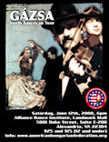 The American Hungarian Federation and the Csipke Ensemble are proud to bring Gázsa - one of Hungary's best folk music bands - to Washington, DC for an extraordinary concert and tanchaz.