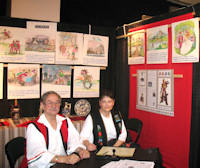"Laci and Agnes Fulop: Hungarian Exhibit wins Minnesota's ""Festival of Nations Award of Excellence - Cultural Exhibits"""