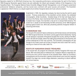 """The Sprit of Hungary"" Dance Ensemble"