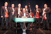 Sponsored by the Kossuth Club, this is a unique opportunity to see and hear an authentic gypsy band. In the tradition of true Gypsy orchestras the RAJKÓ will alter the program every night to suit the specific concert audience and the musicians own creative mood in true RAJKÓ tradition!