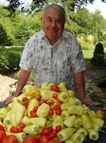 "Dr. Bognar, affectionately known as ""Professor Paprika"" as he raises scholarship funds through the annual sale of his own garden-grown peppers!"
