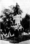 In 1906, led by its first President Kohanyi Tihamer, AHF raised the George Washington Statue in Budapest's City Park (Város Liget) as a symbol of unity