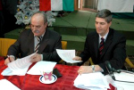 Kasza and Bugar Sign Declaration
