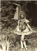 Barbara Lancier's grandmother as a young girl