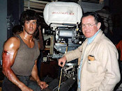 "After being honorably discharged from the service Andrew Laszlo eventually established himself as a cinematographer and rose to prominence as one of Hollywood's top cinematographers. His career in film and television spans nearly fifty years, from the original ""PHIL SILVERS SHOW"" (Sgt. Bilko) to Walt Disney Pictures ""NEWSIES,"" ""RAMBO: First Blood,"" ""POLTERGEIST II,"" and ""STAR TREK V: The Final Frontier."""