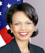 Secretaty of State Condoleezza Rice
