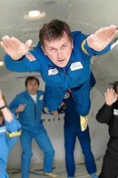 Charles Simonyi (b. 9/10/1948, Budapest) is a billionaire computer Scientist and was Chief Architect of Microsoft Corporation returned safely to earth after a week aboard  a Soviet spacecraft.
