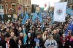 A március tizedikei budapesti, székely autonómia melletti tüntetésen egy tucatnyi felvidéki magyar is megjelent, hogy kinyilvánítsa egyetértését, emellett több községben kitűzték a székely zászlót.